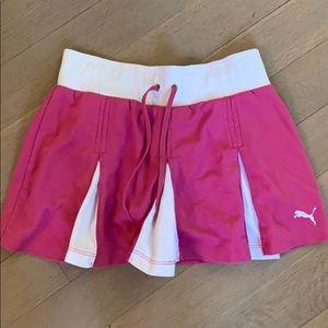 Girls Puma tennis skirt